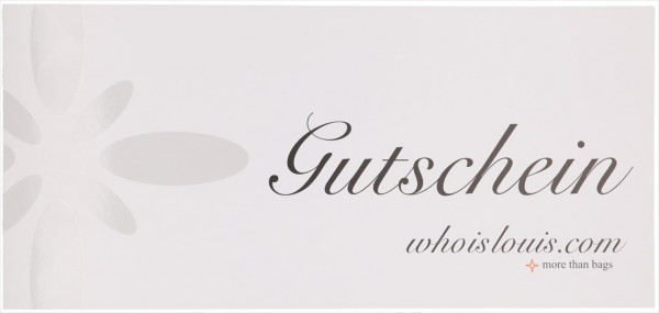 WHOISLOUIS.COM GUTSCHEIN