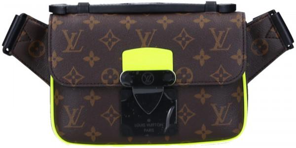 LOUIS VUITTON S LOCK SLING BAG BAUCHTASCHE AUS MONOGRAM CANVAS IN JAUNE FLUO (M45864)