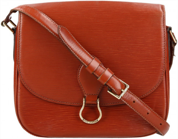LOUIS VUITTON SAINT CLOUD GM UMHÄNGETASCHE AUS EPI LEDER IN KENYAN FAWN