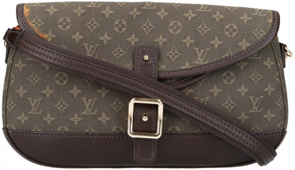 LOUIS VUITTON MARJORIE HANDTASCHE AUS MONOGRAM MINI LIN CANVAS IN KAKI